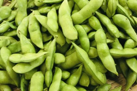 富士川町の枝豆
